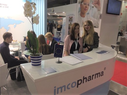 IMCoPharma at Pharmtech & Ingredients 2017