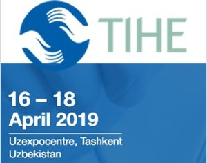 TIHE 2019 in Uzbekistan - visit our stand no. G30