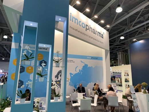 IMCoPharma at Pharmtech & Ingredients 2019